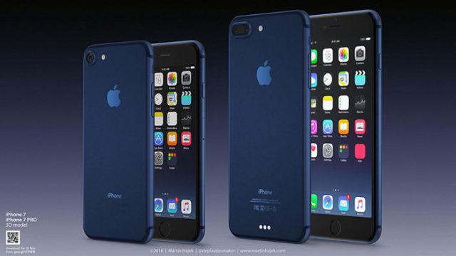 iPhone 7 bleu : image 1