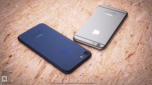 iPhone 7 bleu : image 2