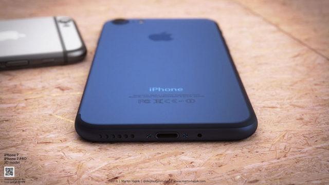 iPhone 7 bleu : image 3