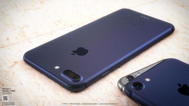iPhone 7 bleu : image 5
