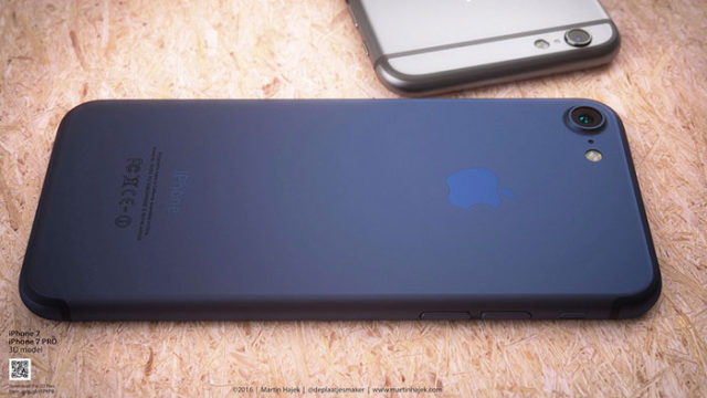 iPhone 7 bleu : image 8