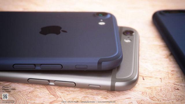 iPhone 7 bleu : image 9