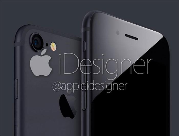 cet iphone 7 noir risque de taper dans l 39 oeil de pas mal. Black Bedroom Furniture Sets. Home Design Ideas