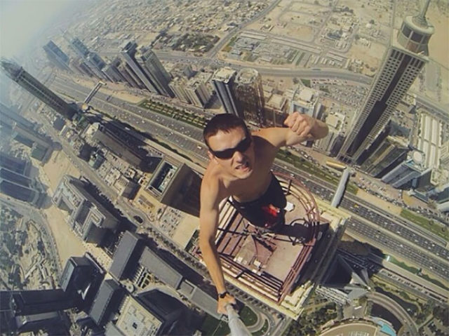 Selfies dangereux