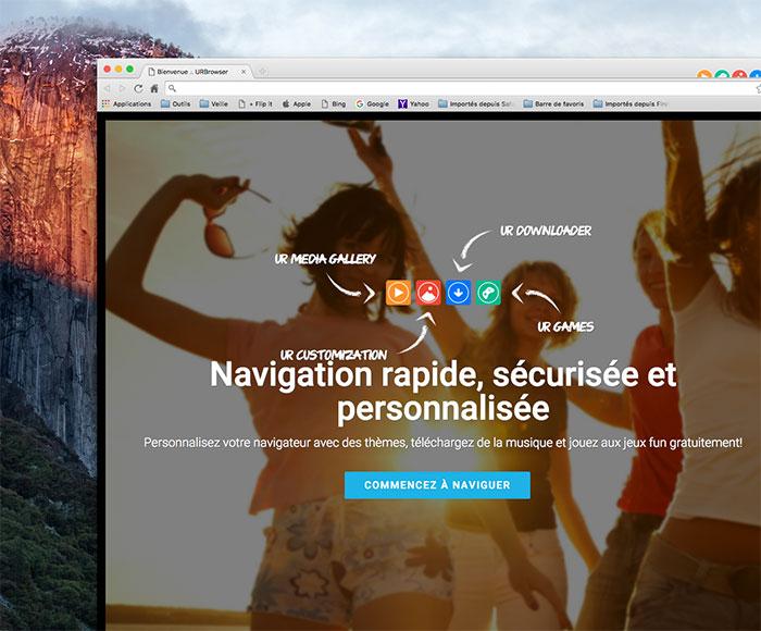 UR Browser : image 1