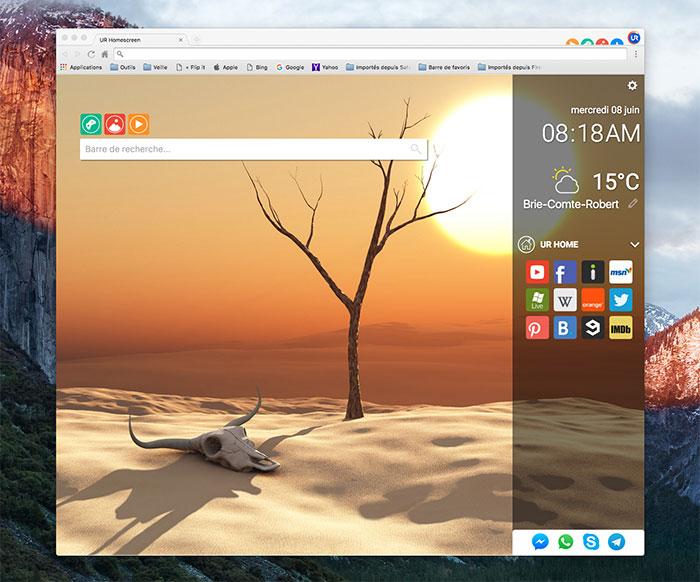 UR Browser : image 2