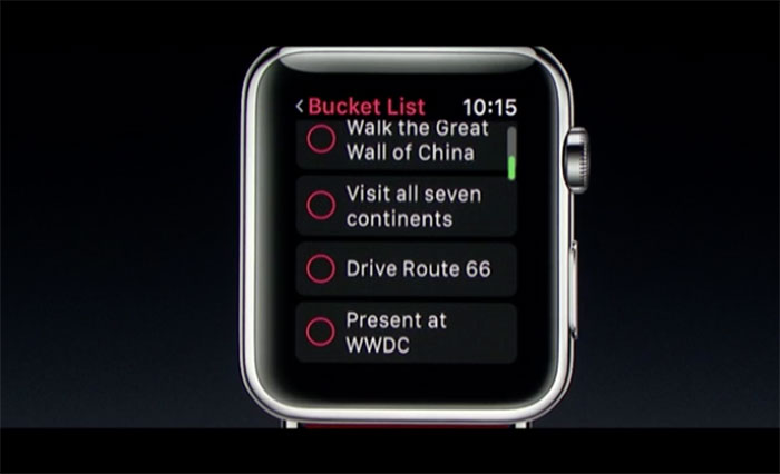 WWDC 2016 : watchOS 3 - image 1