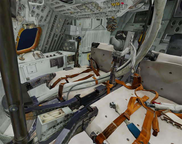 Module commande Apollo 11