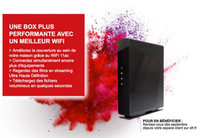 SFR : une nouvelle box fibre pour septembre ?