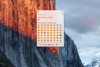 Clavier Emoji OS X