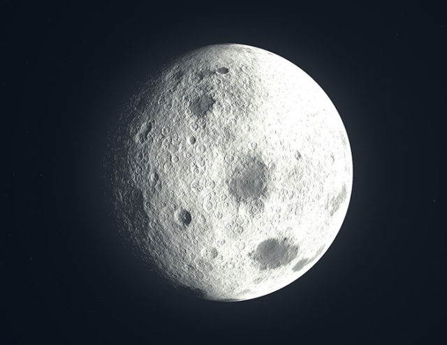 Lune Astéroïde