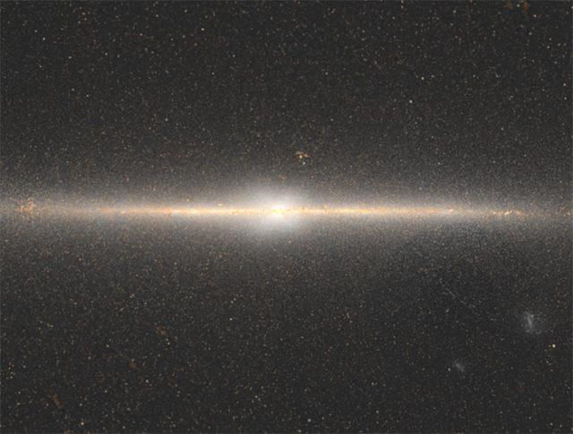 Quel est ce mystérieux motif au centre de la Voie Lactée ?