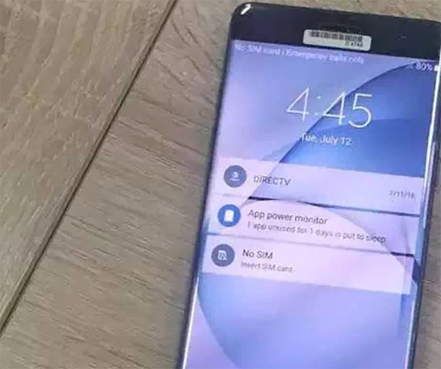 Photo Galaxy Note 7