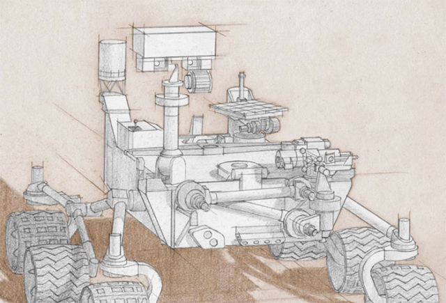 Rover Mars 2020 : image 1