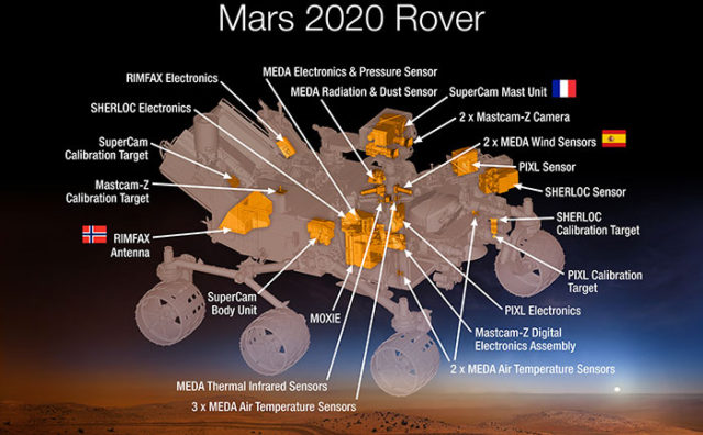 Rover Mars 2020 : image 2