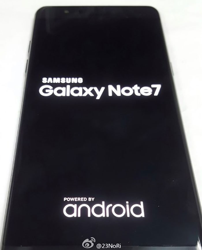 Scanner Galaxy Note 7 : image 1
