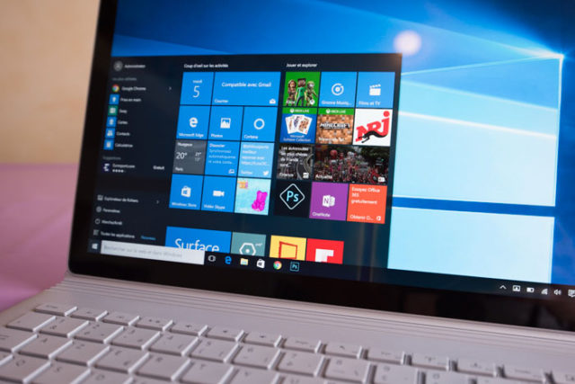 Echec Windows 10
