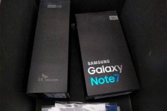 Boite Galaxy Note 7 : image 1