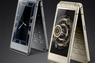 Téléphone à clapet Samsung