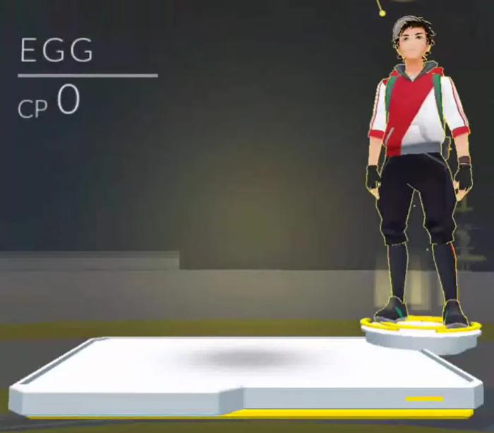 Œuf Pokémon Go
