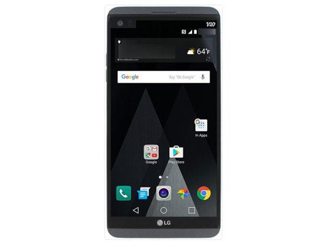 LG V20 : rendu 2