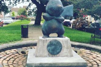 Statue de Pikachu