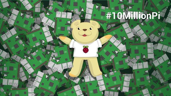 10 millions de Raspberry Pi