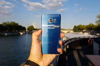 Blocage Galaxy Note 7