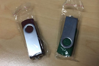 Clé USB Vérolée