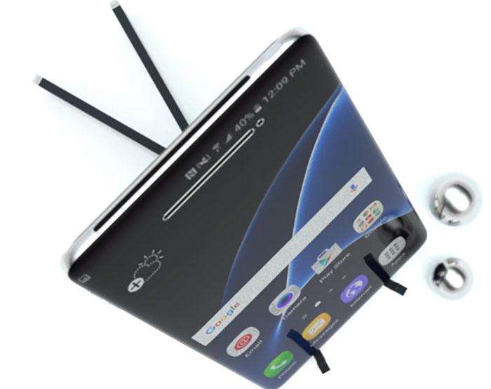 Le Samsung Galaxy S8 se paye deux nouveaux concepts