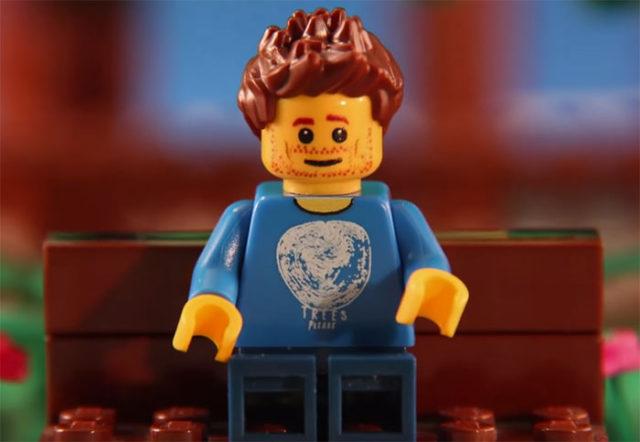 Demande mariage Lego
