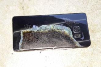 Explosion Galaxy Note 7
