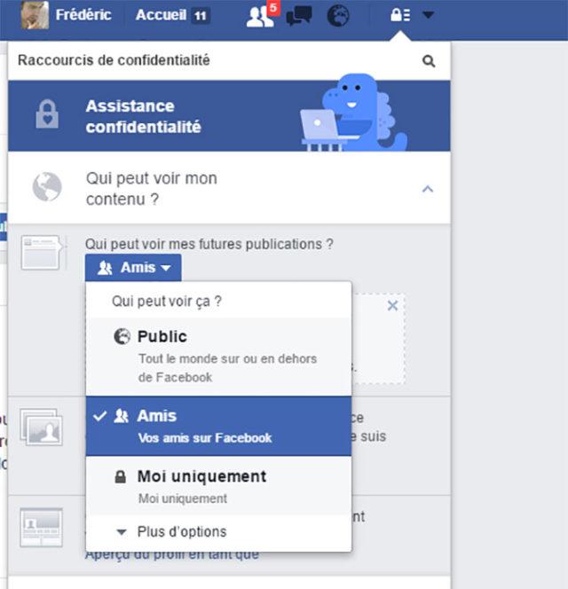 Confidentialité Facebook