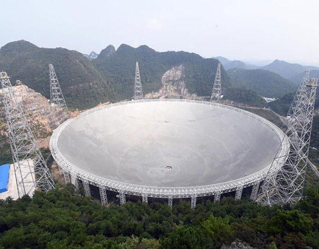 Trois pulsars ont été repérés par le télescope chinois