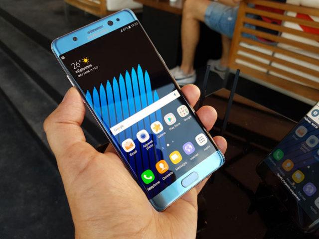 Problèmes Galaxy Note 7