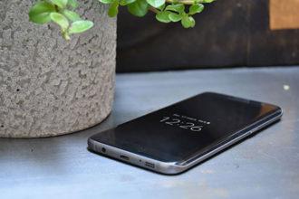 Samsung Galaxy S7 Edge on Fire
