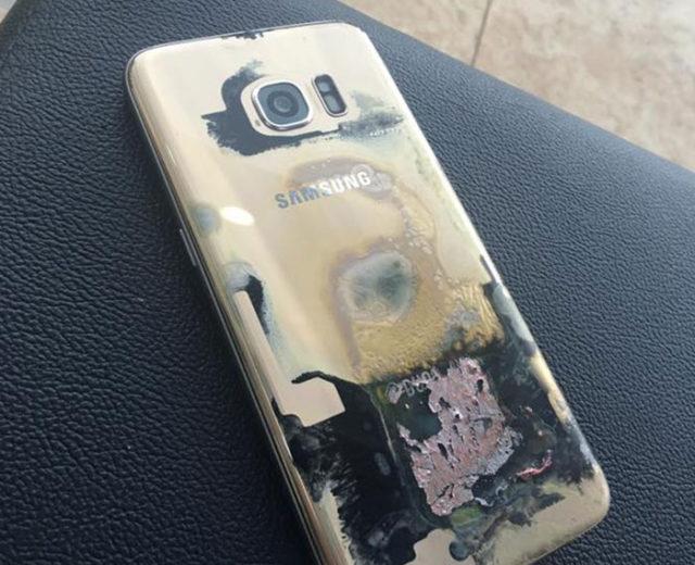 Feu Galaxy S7 Edge : image 1