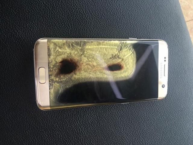 Feu Galaxy S7 Edge : image 4