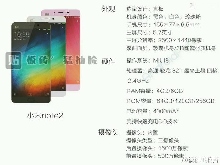Xiaomi Mi Note 2 : image 9