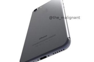 Rendu iPhone 7