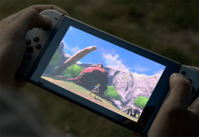 Ecran Nintendo Switch