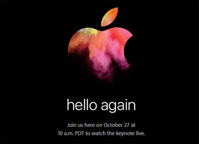 Keynote Apple Octobre