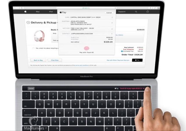 Magic Toolbar MacBook Pro : image 1