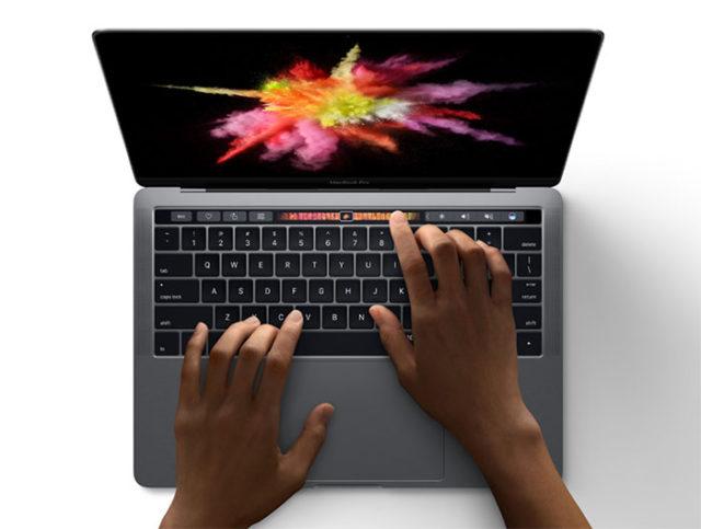 MacBook Pro et iPhone 7