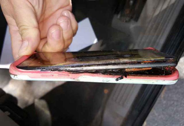 Galaxy Note 7 Burn Minnesota 2