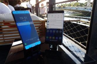 Galaxy Note 7 avion