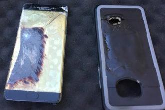 Galaxy Note 7 Burn
