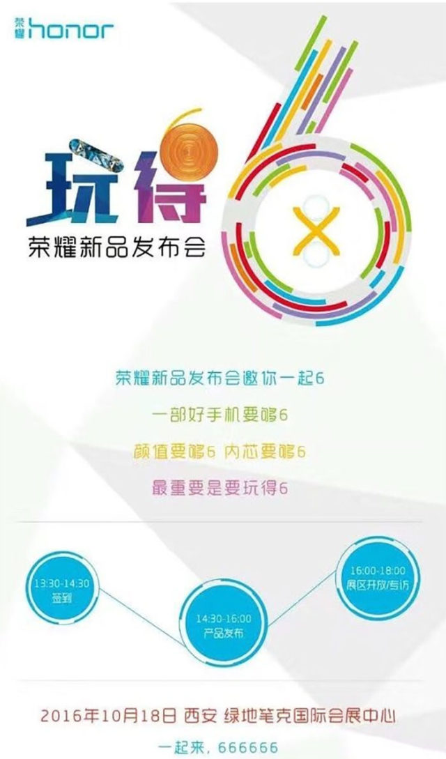 Poster Honor 6X
