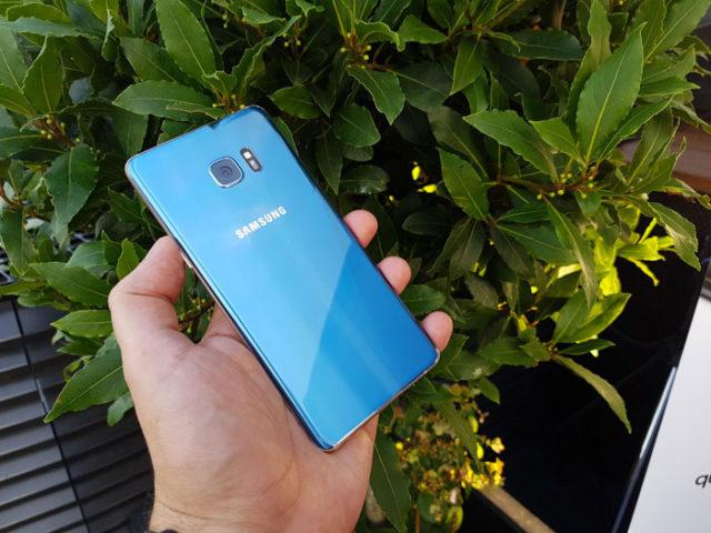 Problème Galaxy Note 7
