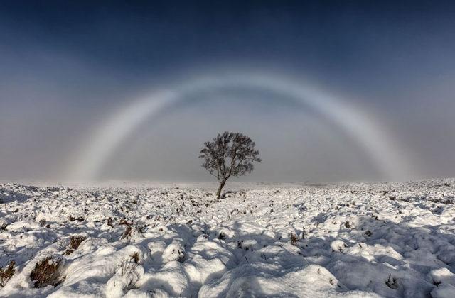 Arc-en-ciel blanc